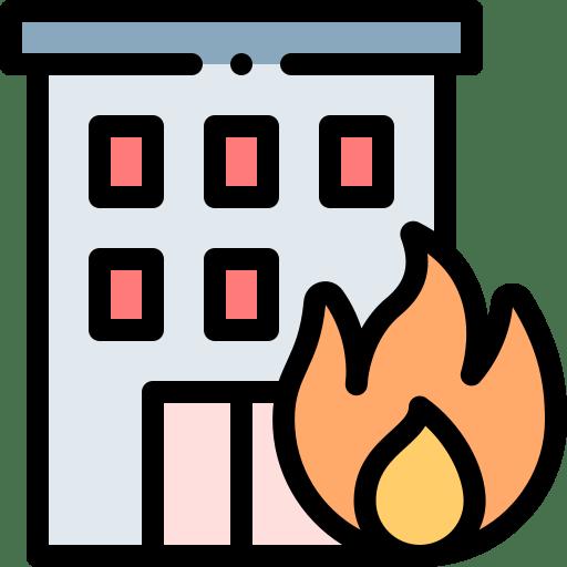 incendio y terremoto deudor
