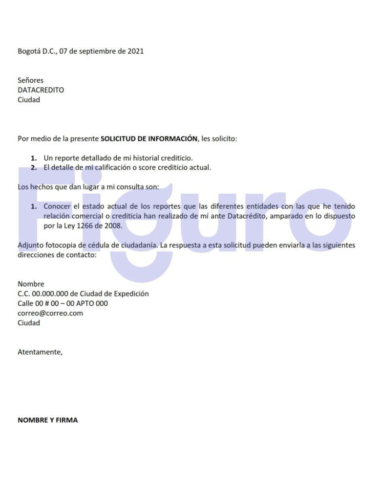 Derecho de Petición a Centrales de Riesgo
